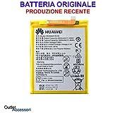 Batterie originale Huawei P10 Lite HB366481EC W WAS-LX1A OEM interne en vrac pour téléphone portable, produit authentique