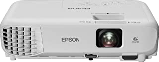 Epson EB-W06 3LCD, HD Ready, 3700 Lumens, 320 Inch Display, Built-in Speaker, WXGA Projector - White