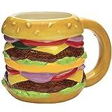 Streamline Ceramic Novelty Cheeseburger Mug