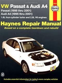VW Passat & Audi A4: Passat (1998 thru 2001); Audi A4 (1996 thru 2001) (Haynes Repair Manual)