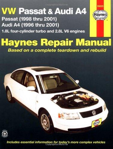 VW Passat and Audi A4 Automotive Repair Manual: 1996-2001 (Hayne's Automotive Repair Manual)