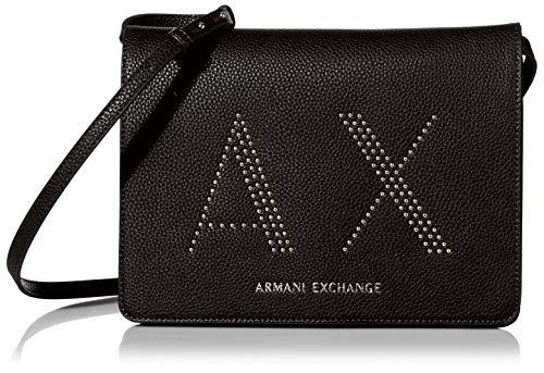 Armani Exchange A|X Umhängetasche, Schwarz (schwarz), Einheitsgröße
