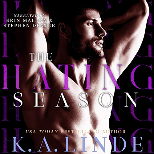 The Hating Season audiobook cover art