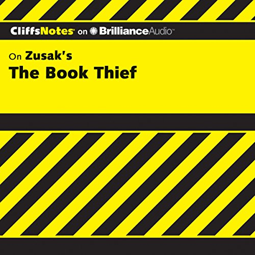 CliffsNotes on Zusak's The Book Thief audiobook cover art