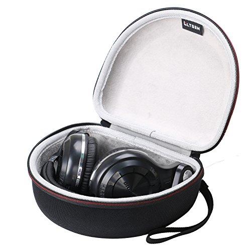 LTGEM EVA Custodia rigida Tasca da viaggio Case per Bluedio T2 T2S T2+ Turbine Bluetooth stereo headphones wireless headphones auricolari cuffie Bluetooth 4.1 headset Ear headphones