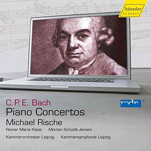Carl Philipp Emanuel Bach: Piano Concertos // Michael Rische // Wq.23 / Wq.112/1 / Wq.31 / Wq.17 / Wq. 43/4 / Wq.14 /Wq.22 / Wq.43/5 / Wq.46 /Wq.26 / Wq.44 / Wq.20