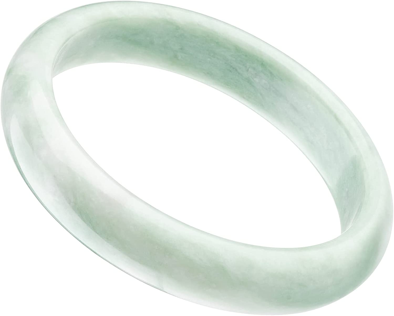 XiskCan Natural Jade Bangle Bracelet for Women, GZC-C1