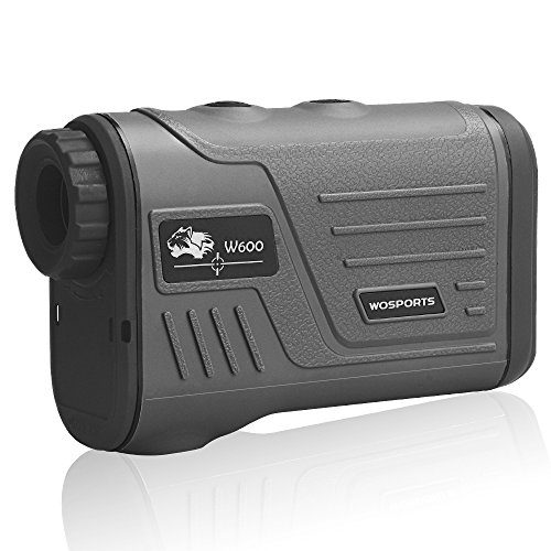 WOSPORTS Golf Rangefinder Laser Hunting Range Finder with Flagpole Lock -...