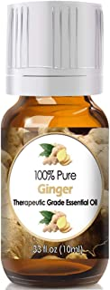 Ginger Essential Oil for Diffuser & Reed Diffusers (100% Pure Essential Oil) 10ml