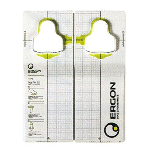 Ergon TP1 Pedal Cleat Tool for Look Kéo Einstellhilfe Für Radschuhe, Black, One Size