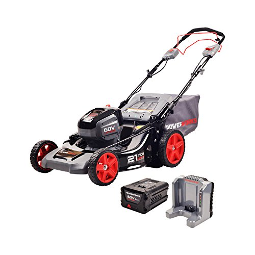 POWERWORKS 60V 21-inch SP Mower, 5.0Ah Battery and Charger Included MO60L512PW