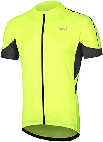 Men/'s Cycling Jersey Clothing Bicycle Sportswear Short Sleeve Bike Shirt Top Y00