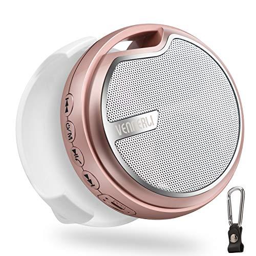 Outdoor Lautsprecher Bluetooth Box Mini Fahrrad Lautsprecher mit Halter, Kabellos Bluetooth 5.0 Bass Lautsprecher Bloototh Musikbox für Handy Mobile MP3 Reise