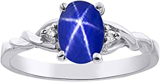 linde blue star sapphire ring