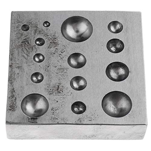 P Prettyia 1 Stück Schmuck-Dapping-Block Tolles Werkzeug für den Prozess der Glocken