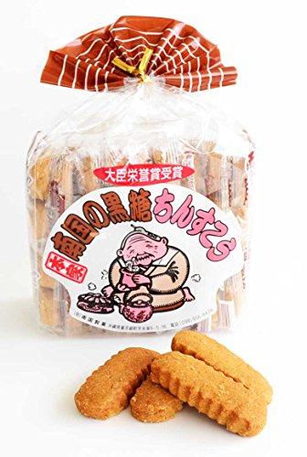 南国の黒糖ちんすこう (2個入×18袋)×24箱 南国製菓 黒糖のほんのりとした甘さのちんすこう 沖縄土産にもおすすめ