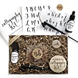 Calligraphy Starter Kit - Beginner Calligraphy Lettering Set - Beginning Modern Calligraphy DIY Kit...