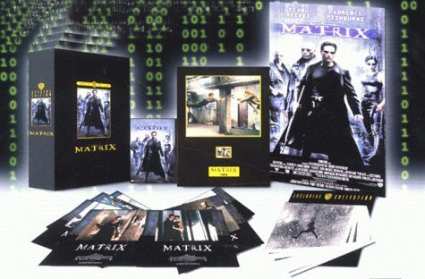 The Matrix - Collector's Edition DVD Box Set with poster, lobby cards, photographs & 35mm film frame [1999] by Larry Wachowski