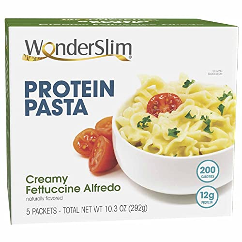 WonderSlim Protein Pasta, Creamy Fettuccine Alfredo (5ct)