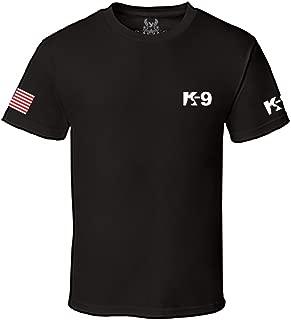 Gs-eagle Men's K-9 Police Graphic T-Shirt