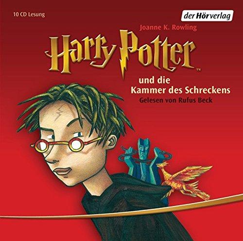 Harry Potter und die Kammer des Schreckens: Gelesen von Rufus Beck (Harry Potter, gelesen von Rufus Beck, Band 2)