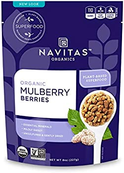 Navitas Organnics Mulberries ORG Organic, 8 Oz