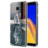 Zhuofan Plus Samsung Galaxy J4 Plus Hülle, Silikon