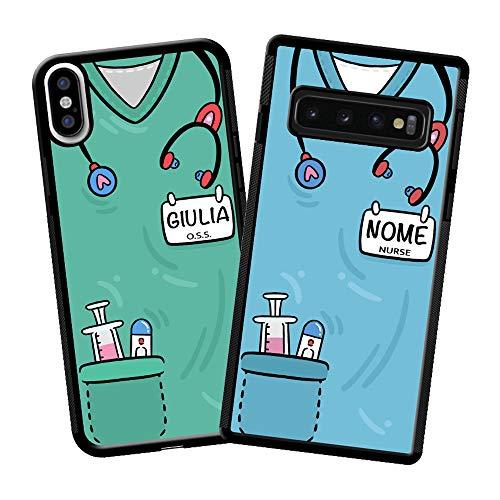 imafan Cover Personalizzata con Divisa Infermiera/OSS/Altre Professioni Sanitarie 2020 (iPhone 7 Plus / 8 Plus)