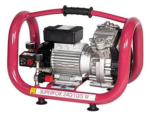 Elmag - SUPERFOX 240/10/5 W - Ölfreier Kompressor