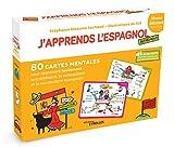 J'apprends l'espagnol autrement - 80 cartes mentales pour apprendre facilement la grammaire,la conjugaison et le vocabulaire espagnols ! + 1 livret explicatif