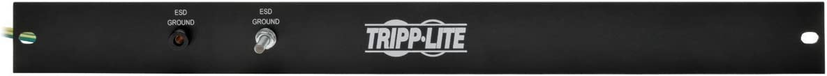 Tripp Lite Rack Enclosure/Open Frame Server Cabinet ESD Grounding Panel 1U SRGROUNDPANELBC