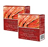 Geomar Gourmet Seafood Carne de Cangrejo Natural Producida en Chile - 2 x 150 gramos