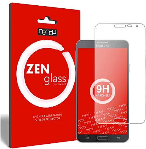 ZenGlass Flexible Glas-Folie kompatibel mit Samsung Galaxy Note 3 Neo Panzerfolie I Display-Schutzfolie 9H