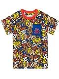 Paw Patrol Camiseta de Manga Corta para nios La Patrulla Canina Multicolor 6-7 Aos