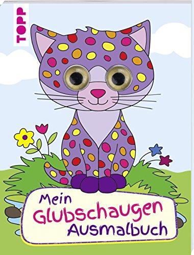 Mein Glubschaugen-Malbuch: Mit coolen 3D-Glubschaugen