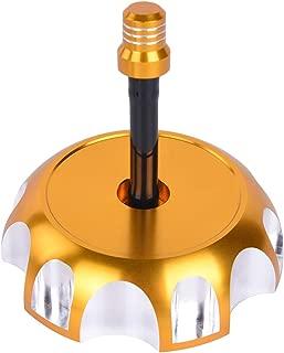Billet Gas Fuel Tank Cap Cover w/Vine Hose for Suzuki RMZ250, Z250, DRZ125, DRZ400E, LT-F250F Ozark, LT-Z250 Quadsport, LT-Z400, LT-L400F, LT-A400 King Quad, LT-F400F Eiger 4WD, LT-A500F Vinson