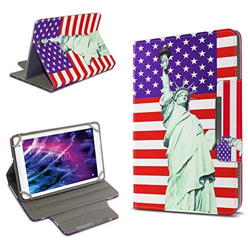 UC-Express Tasche Schutz Hülle für Medion Lifetab S8912 P8912 Tablet Schutzhülle Tab Case Cover Bag, Motiv:Motiv 12