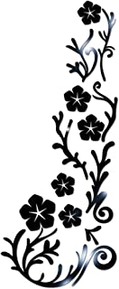 Dolloress 3D Flowers Floral Wall Sticker Acrylic Wall Art Decals for Students Dorm Room Home Kitchen Decor Gift[Home DIY][...