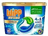 Wipp Express DISCS Detergente en Cápsulas 4 en 1-18 Dosis