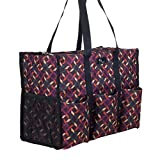 Pursetti Teacher Bag with Pockets - Perfect Gift for Teacher's Appreciation and Christmas (Color Maze)