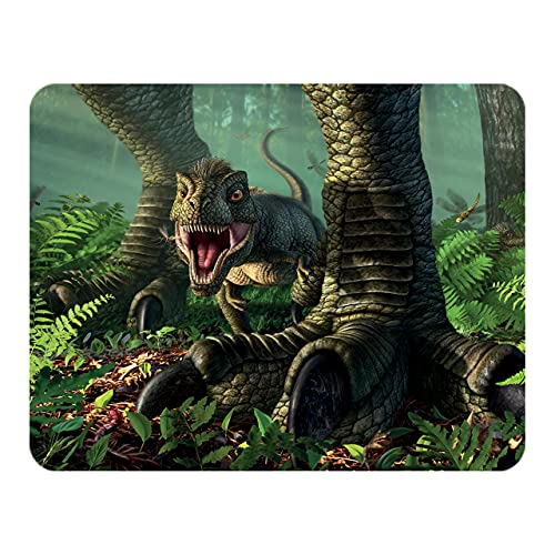 3D LiveLife Magnet - Wee Rex from Deluxebase. Lenticular 3D Dinosaur Fridge Magnet. Magnetic decor for kids and adults with artwork licensed from renowned artist, Jerry LoFaro