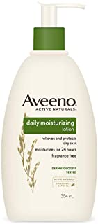 Aveeno Daily Moisturizing Lotion For Normal To Dry Skin With Oats, 354ml