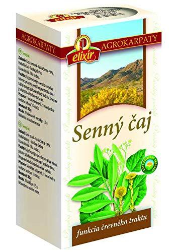 Senna Tea with Coltsfoot and Linden | Natural Laxative Herbal Tea (20 Tea Bags 30g)
