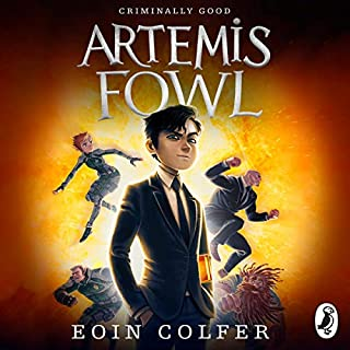 Artemis Fowl                   By:                                                                                                                                 Eoin Colfer                               Narrated by:                                                                                                                                 Gerry O'Brien                      Length: 6 hrs and 46 mins     98 ratings     Overall 4.6