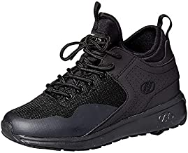 Heelys Boys' Piper Sneaker, Black, 13 Medium US Big Kid
