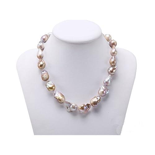 3fab6ed59786e Baroque Pearls Necklace: Amazon.co.uk