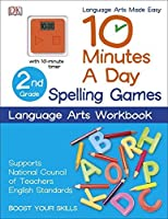 10 Minutes a Day: Spelling Games, Second Grade by DK Publishing(2015-06-02)