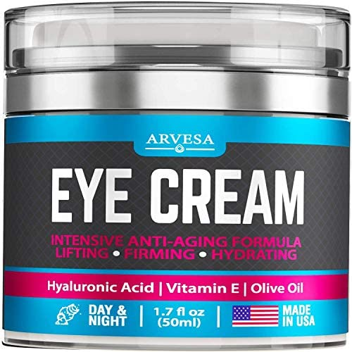 Premium Eye Cream for Women Effective Under Eye Cream for Wrinkles with Retinol Hyaluronic Acid product image