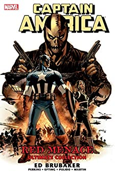 Captain America: Red Menace (Captain America (2004-2011)) by [Ed Brubaker, Mike Perkins, Javier Pulido, Marcos Martin, Steve Epting]