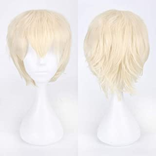 TianWlio Perücken Damen Multi Color Short Glattes Haar Perücke Anime Party Cosplay Volle Verkauf Perücken 35cm